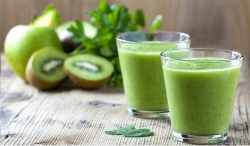 zielony koktajl właściwości