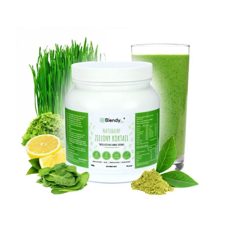zielony koktajl superfood blendygo