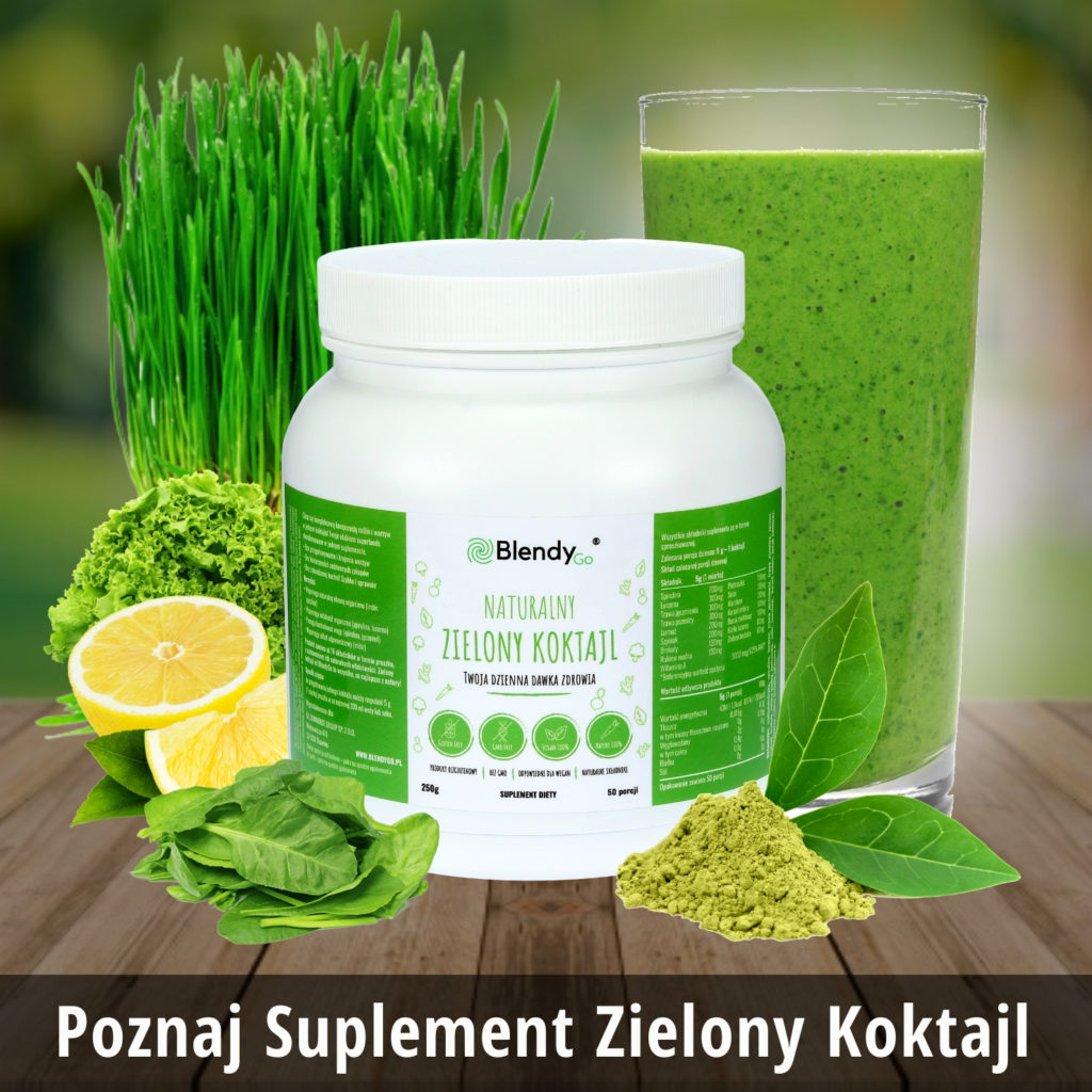 suplement superfood zielony koktajl