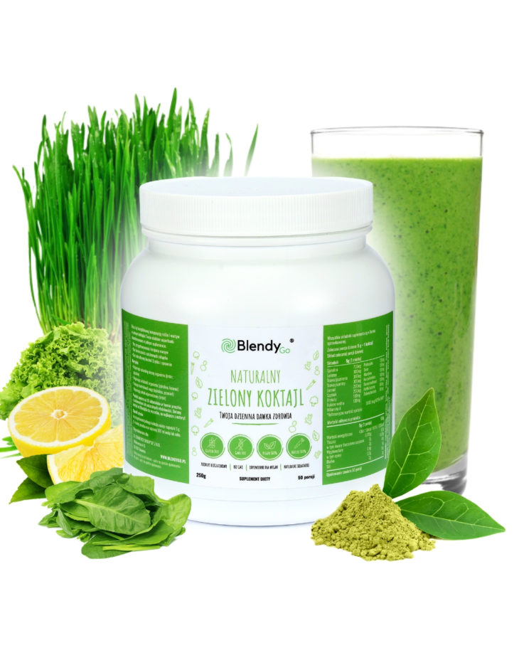 zielony koktajl superfood blendygo