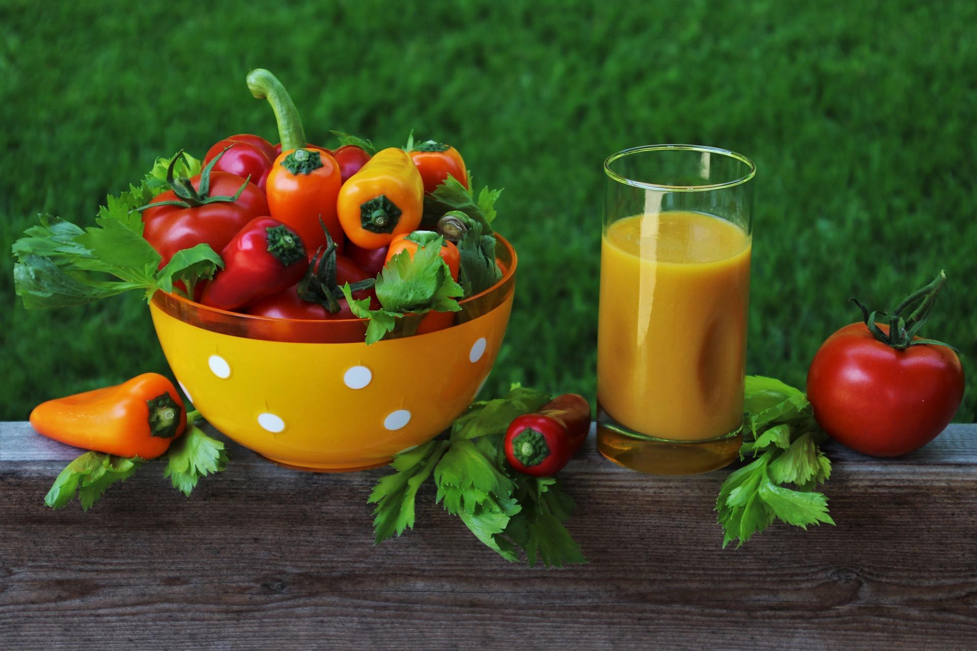 Pomysły na koktajle warzywne z blendera